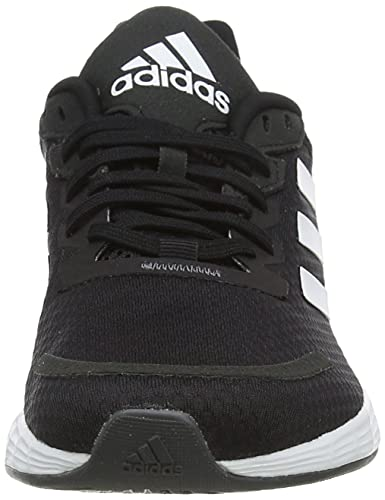 adidas Duramo SL, Sneaker Mujer, Core Black/Footwear White/Grey, 37 1/3 EU