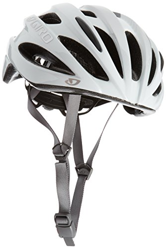 Giro Trinity Bicycle Helmet, Mat White/Silver, One Size