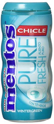 Mentos - Pure Fresh - Chicles con sabor a menta - 1 paquete - [Pack de 10]