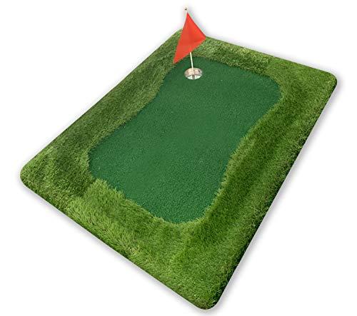 Golf Island Pro® | Tapis de Golf Flottant | Qualité Premium | 1 Tapis d'Approche Flottant | 1...
