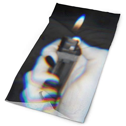 Huanxl Gepersonaliseerde Aansteker Gepersonaliseerde Aanpassing Outdoor Hoofdband Elastische Naadloze Bandana Sjaal UV Weerstand Sport Hoofddeksels En Nek Gaiter