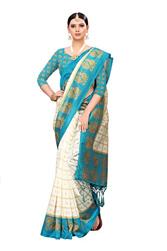 Anni Designer Silk Saree with Blouse Piece Price in India