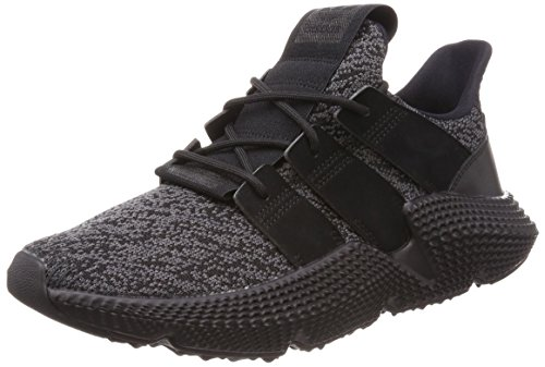 adidas Prophere, Zapatillas Hombre, Negro (Core Black/Solar Red 0), 42 EU