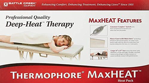 Thermophore MaxHeat Deep-Heat Therapy, Large, Standard 14' x 27' (Auto-Switch)