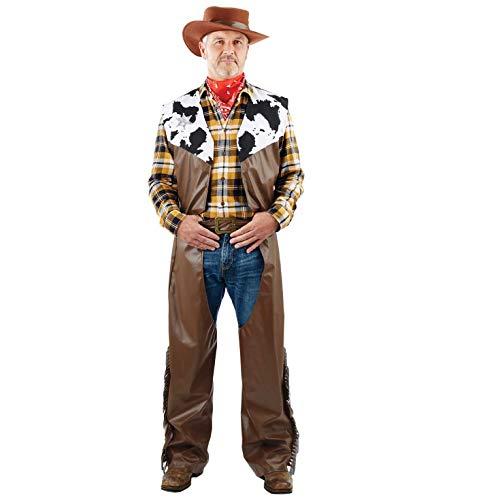 Fun Shack Marrone Cowboy Costume per Uomini - Taglia Unica