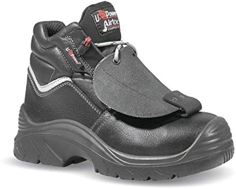 U-Power Depp S3 HRO Hi  Welder Boots Black for Men