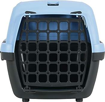 Stefanplast Box De Transport Gulliver 1 Bleu/Marron, 48x32x31cm pour Chien
