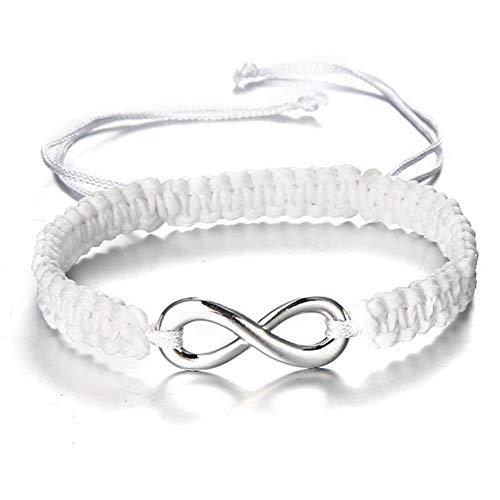 ASIG Hand Gevlochten Touw String Armband Infinity Handgemaakte Macrame Paar Braclet Voor Vrouwen Mannelijke Liefhebbers