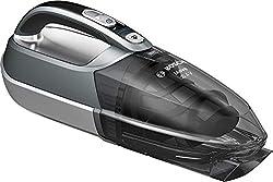 Bosch Move 20,4 Volt max Kabelloser Handstaubsauger BHN20110, schnelle Reinigung, hohe Reinigungsleistung, flexibel einsetzbar, 3-fach Filter, 16 Minuten, silber