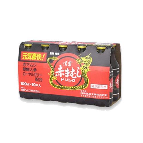日興薬品赤マムシドリンク100ml50本