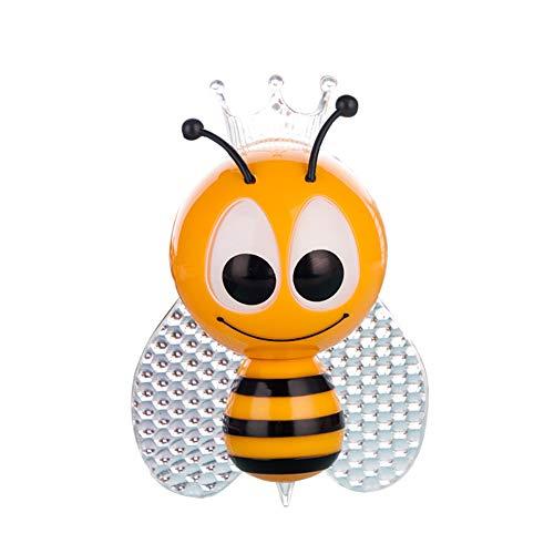 Luz nocturna con sensor de dibujos animados Bee decorativo LED RGB para mesilla de noche