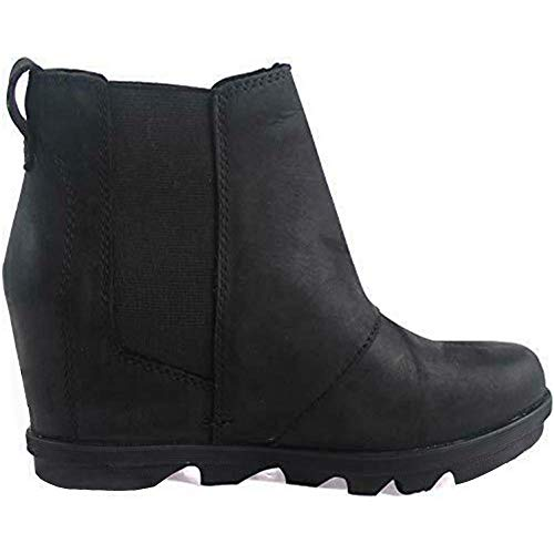 Vimisaoi Women's Hidden Wedge Chelsea Boots,Comfy Suede Ankle Booties, Fall Winter Warm Outdoor Casual Non Slip Short Boots