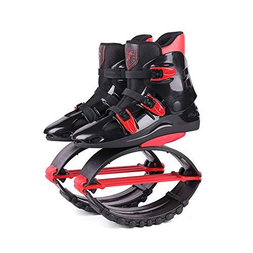YXRPK Rebound Schuhe Jumps Springen Stelzen Fitness Übung Prellen Verbessert Die Durchblutung, Verbessert Gesundheit Und Stärkt Gelenke Knochen,M