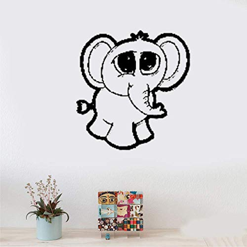 stickers muraux Baby Elephant Cute For Kids Chambre d'enfant