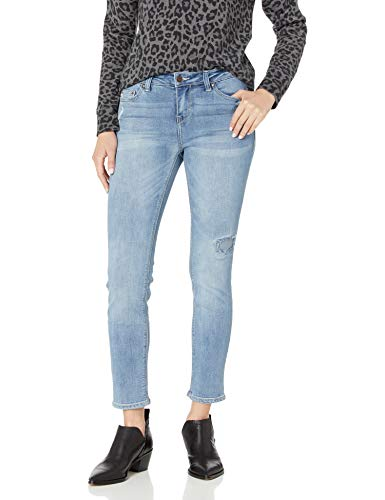 Jordache Legacy Women's Emily Midrise Skinny Ankle Jeans Honor, 14