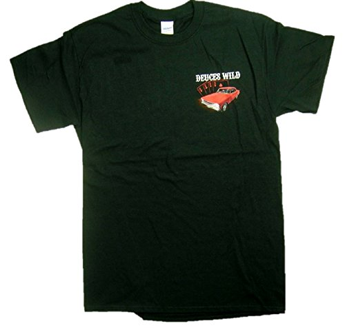 Joe Blow Hombres de Chevrolet Deuces Wild Casino Chevy Novas Camiseta