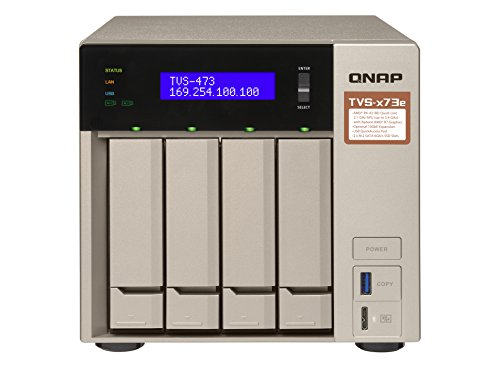 QNAP TVS-473e-4G Desktop NAS Geh...