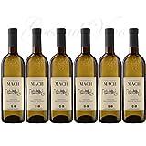 Vino Bianco Ottimo come aperitivo Accompagna primi piatti aromatizzati e speziati n. 6 bottiglie 12,5% Vol.