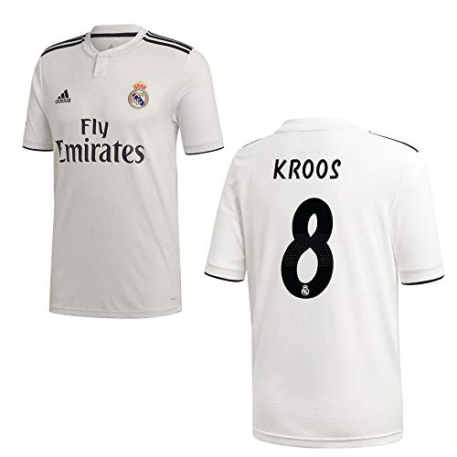 Adidas Real Madrid Tricot Home Kids 2019 - KROOS 8