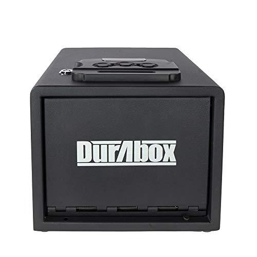 DuraBox Pistol Safe with Digital Lock, Smart Quick Access Gun Safe (Tall)