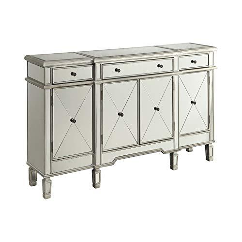 COASTER CO-102595 Cabinet, Silver