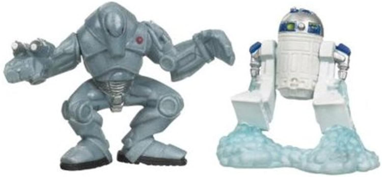 Star Wars  Clone Wars Galactic Heroes R2-D2 & Super Battle Droid Action Figure 2-Pack