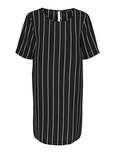 ONLY Damen Kleid Loose Fit 36Black 2