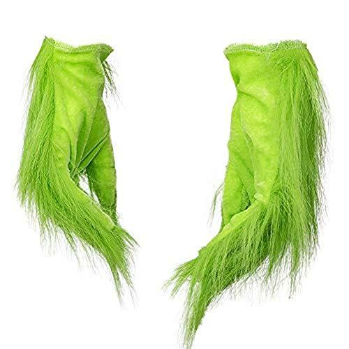 Hihey Lustige Grinch Weihnachten Wolle Cosplay Handschuh Weihnachten Kostüm Requisiten für Kinder Erwachsene Handschuhe