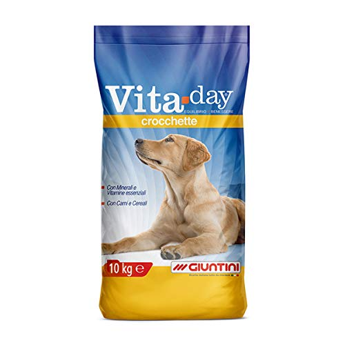 Giuntini VitaDay Crocchette 10kg Mangime Completo per Cani