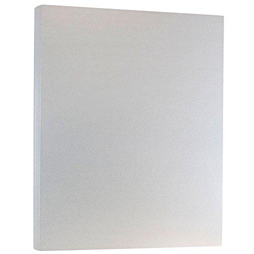 Jam Papier Stardream cardstock- 21,6x 35,6cm, silber