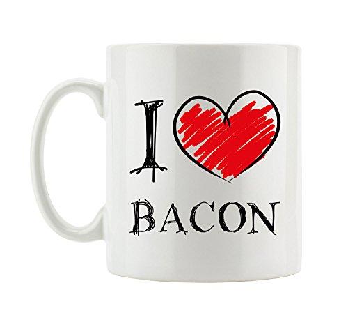 I love Bacon Fun Tasse