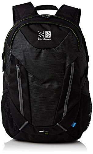 Karrimor Unisex– Erwachsene Metro Reflective Rucksack, schwarz-grau, 30 L