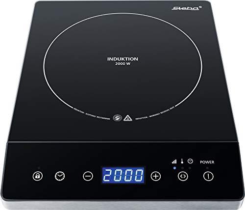 Steba Ik 75 - Cocina de inducción (superficie de cristal y
