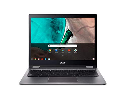 Acer Chromebook Spin 13 CP713-1WN-55Ht 13.5' Touchscreen 2 in 1 Chromebook - 2256 X 1504 - Core i5 i5-8250U - 8 GB RAM - 64 GB Flash Memory - Gray - Chrome OS - Intel UHD Graphics 620 - in-Plane