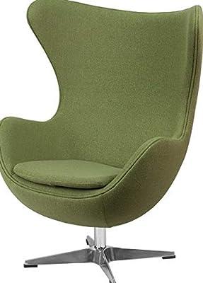 Amazon Com Designer Modern Arne Jacobsen Egg Chair Red