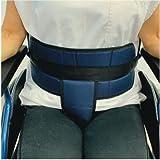 Cinturón de sujeción para silla de ruedas, abdominal-pélvico talla universal, cinturón de fijación para adultos.