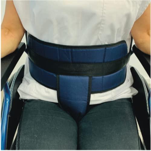 Cinturón de sujeción para silla de ruedas, abdominal-pélvico talla universal, cinturón...