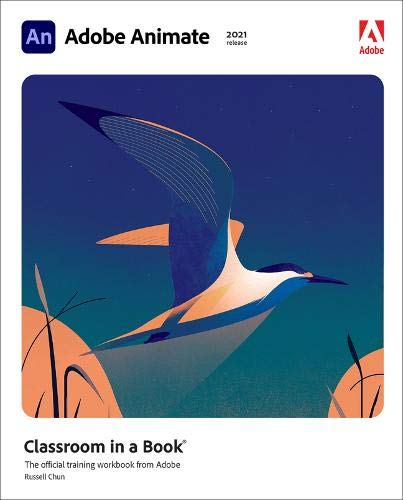 Adobe Animate Classroom in a Book (2021 release) Front Cover