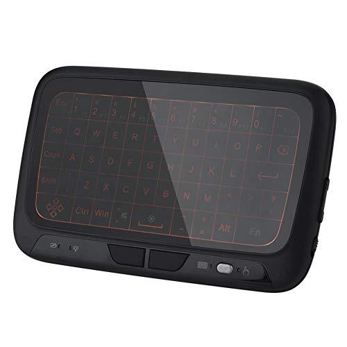 Mini Wireless Touchscreen-Tastatur 2.4G beleuchtete Tastatur für PC, Tablet, HTPC, IPTV, Internet-TV, Smart-TV, für Google TV, Android TV