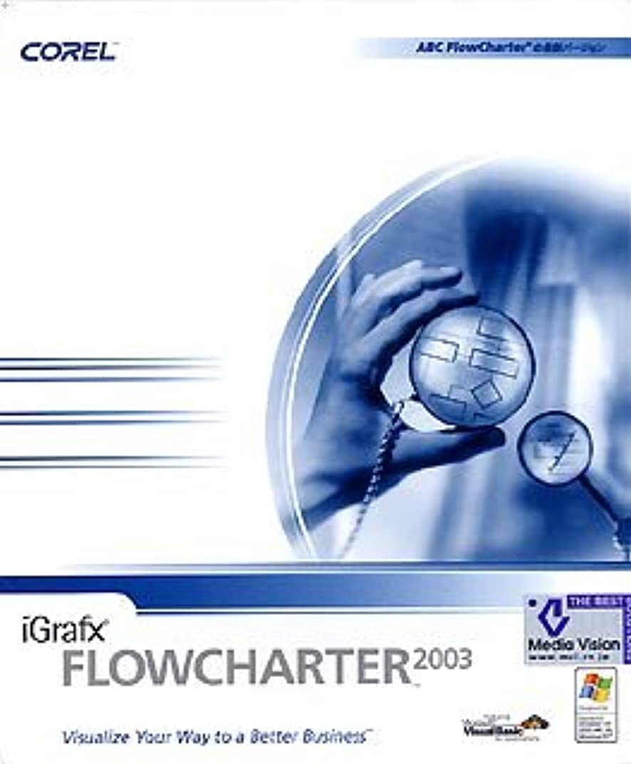 ほのか役員不愉快にiGrafx FlowCharter 2003 日本語版