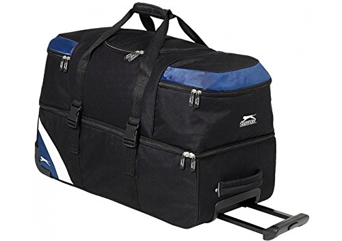 BARBACADO - Bolsa de viaje Negro Noir Bleu Blanc 67x42x32cm