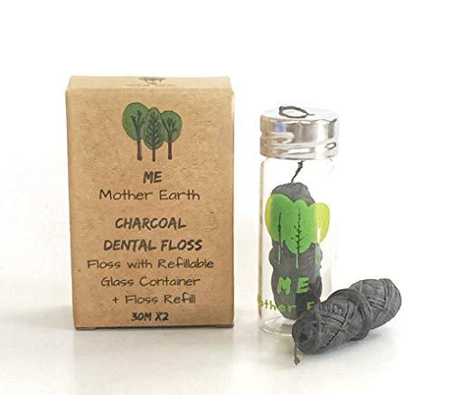 Eco-Friendly Charcoal Dental Floss