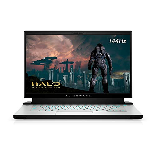 Alienware m15 R4 Gaming Laptop, 15.6 inch Full HD (FHD) - Intel Core i7-10870H, 16GB DDR4 RAM, 512GB SSD, NVIDIA GeForce RTX 3060 6GB GDDR6, Windows 10 Home - Lunar Light (Latest Model)
