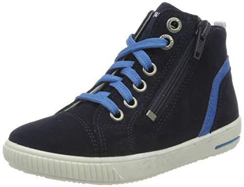 Superfit Baby Jungen Moppy Sneaker, Blau (Blau/Blau 80), 25 EU
