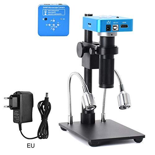 Sendgo 34MP HDMI USB Industrial Microscope Camera High Definition Digital 150X Magnifier Lens for Cameras Phone DIY Repair