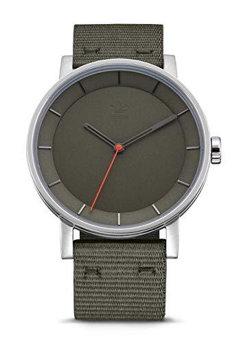 adidas District W1 Watch - Gunmetal/Legend Ivy Watch