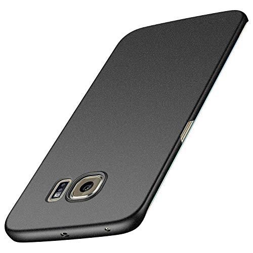 Avalri Cover Samsung Galaxy S6 Edge Plus, Minimalista Design Ultra Sottile Case Rigida in PC Antiurto Anti-Graffio Custodia per Samsung Galaxy S6 Edge Plus (Ghiaia Nera)