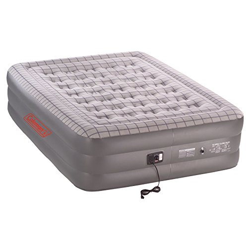 Coleman Premium SupportRest Double-High Airbed with Built-In Pump