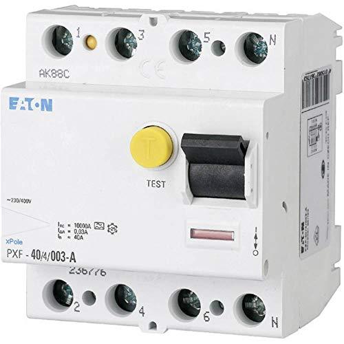 Eaton 236778 Fi Schutzschalter 4 Polig, 40A, 300mA, PXF-40/4/0.3A
