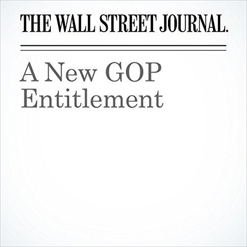 A New GOP Entitlement copertina